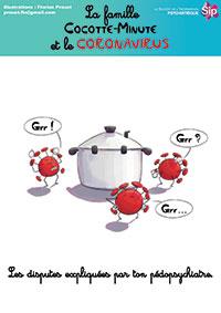 La famille Cocotte-Minute, Le coronavirus expliqué par ton pédopsychiatre
